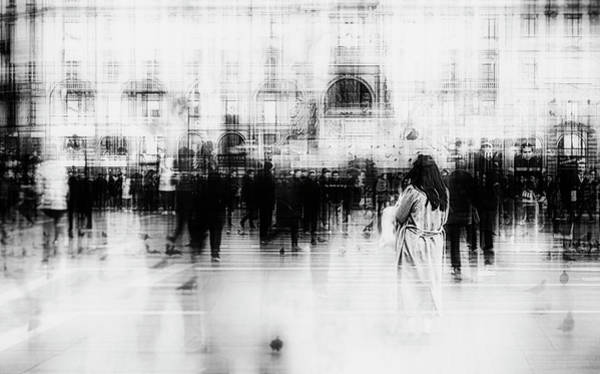 Crowds Wall Art - Photograph - Lost Among Ghosts by Inna Blar