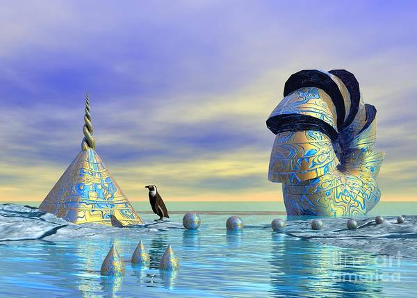 Digital Art - Lost And Found - Surrealism by Sipo Liimatainen