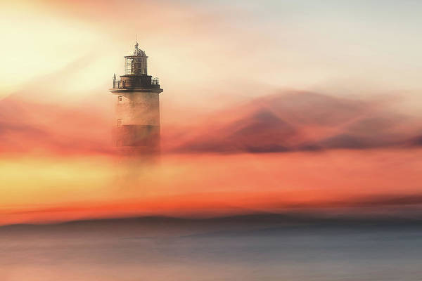 Foggy Photograph - Lost At Sea by Gustav Davidsson
