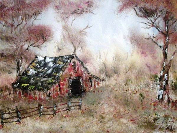 Lost Barn Art Print