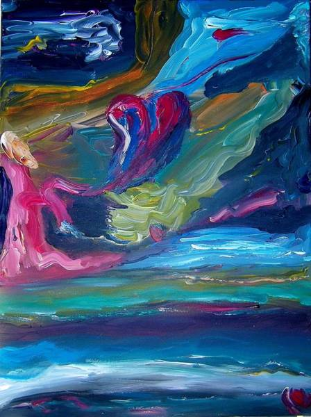Painting - Lost Feeling by Ray Khalife