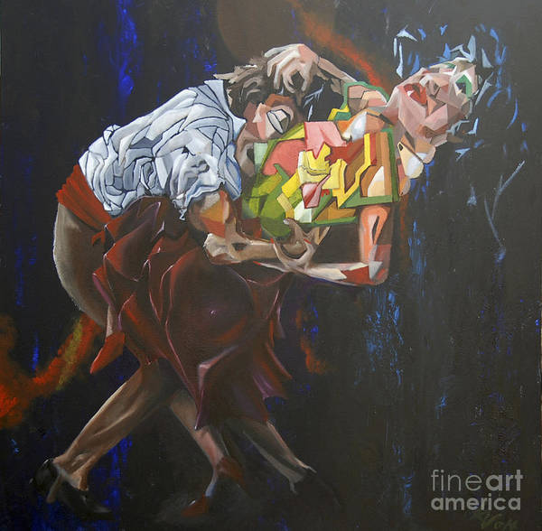 Painting - Lost In Dance by James Lavott