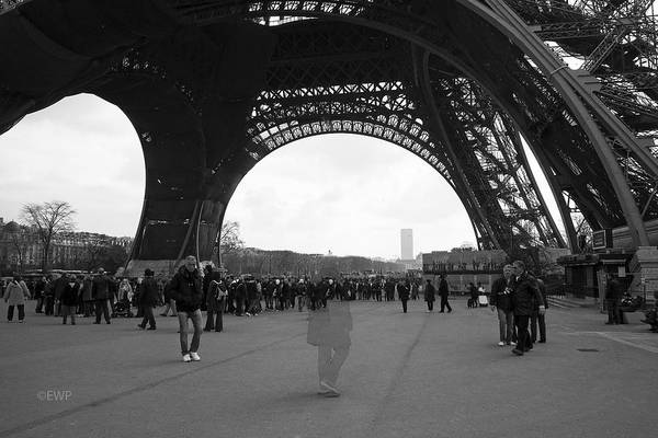 Photograph - Lost In Paris by Eric Wiles