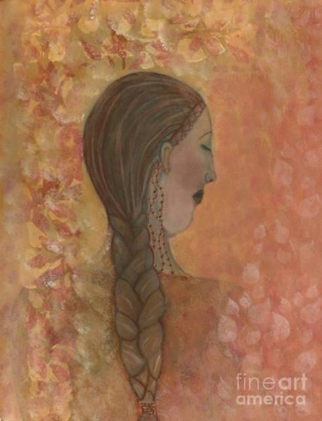 Wall Art - Painting - Lost In Prayer by Nancy TeWinkel Lauren