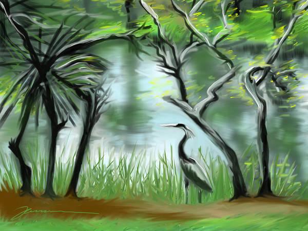 Painting - Lost Lake by Jean Pacheco Ravinski