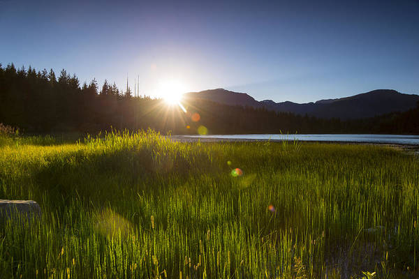 Wall Art - Photograph - Lost Lake Sunset by Aaron Bedell