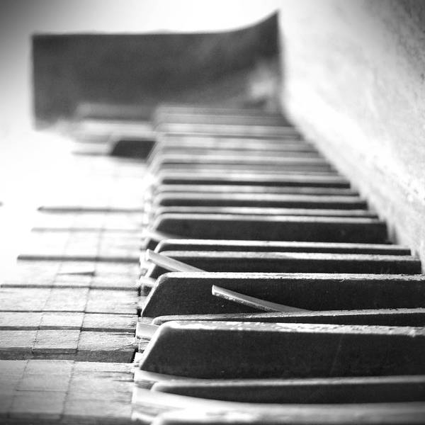 Piano Photograph - Lost My Keys by Mike McGlothlen