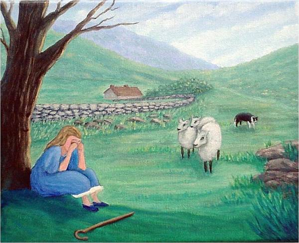 Painting - Lost No More by Fran Brooks