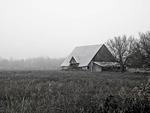 Wall Art - Photograph - lost place - southern Oregon by David A Brown