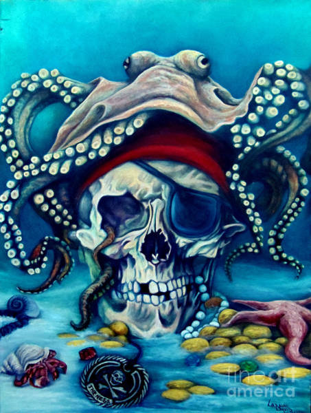 Wall Art - Painting - Lost Treasure by Lorraine Davis Martin