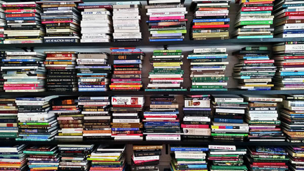 Tybee Island Photograph - Lots Of Books by Joseph Shields