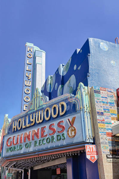 Photograph - Lots Of Letters Hollywood Guinness World Of Records by Scott Campbell
