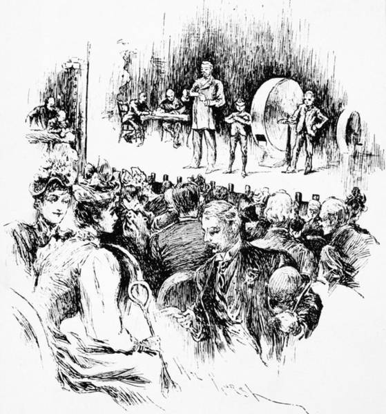 Drawing - Lottery Drawing, 1890 by Granger