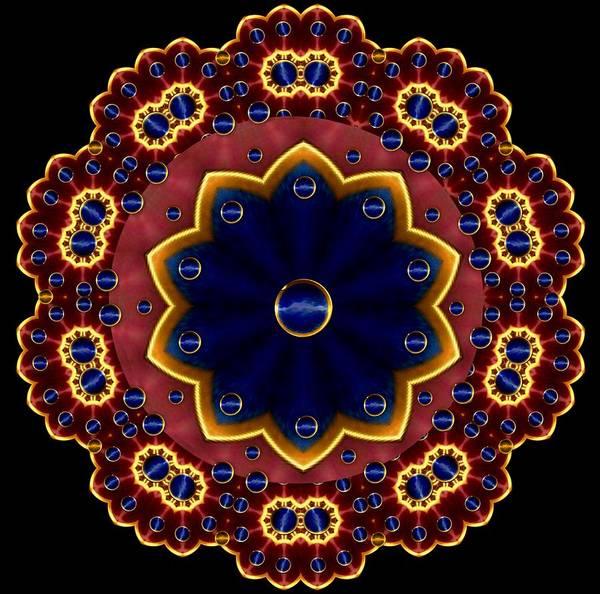 Sacred Mixed Media - Lotus Bloom by Pepita Selles