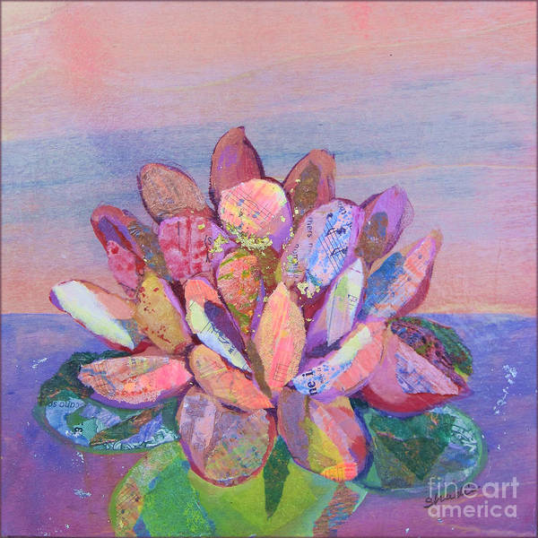 Wall Art - Painting - Lotus II by Shadia Derbyshire