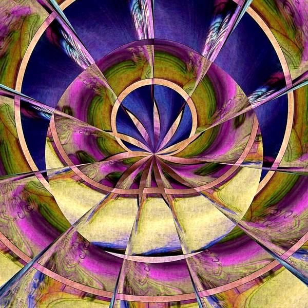 Digital Art - Lotus Moon by Susan Maxwell Schmidt