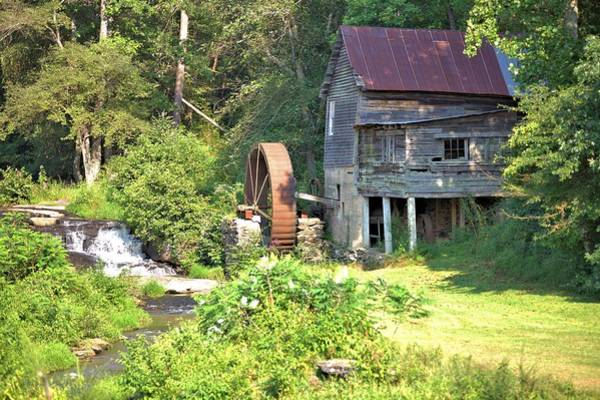 Photograph - Loudermilk Grist Mill by Gordon Elwell