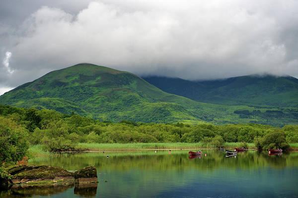 Killarney Photograph - Lough Leane by Nicolas Kipourax Paquet
