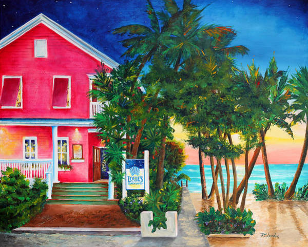 Painting - Louie's Backyard by Phyllis London