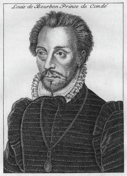 Painting - Louis De Bourbon (1530-1569) by Granger
