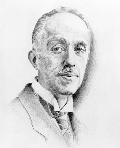 Nobel Prize Winners Wall Art - Photograph - Louis De Broglie by Physics Today Collection/american Institute Of Physics/science Photo Library