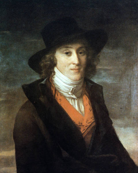 Painting - Louis De Saint-just (1767-1794) by Granger