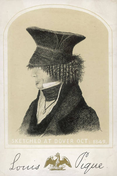 Wall Art - Drawing - Louis-philippe Dover, October 1849 by Mary Evans Picture Library