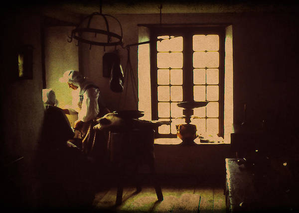Photograph - Louisbourg Kitchen by Doug Matthews
