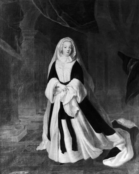 Wall Art - Painting - Louise Francoise De Bourbon (1673-1743) by Granger
