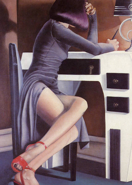 Painting - Louise by Mary Ann Leitch