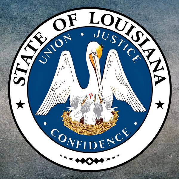 Digital Art - Louisiana State Seal by Movie Poster Prints