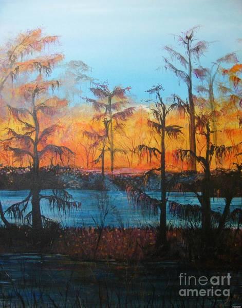 Painting - Louisiana Swamp Fais Do Do by Lizi Beard-Ward