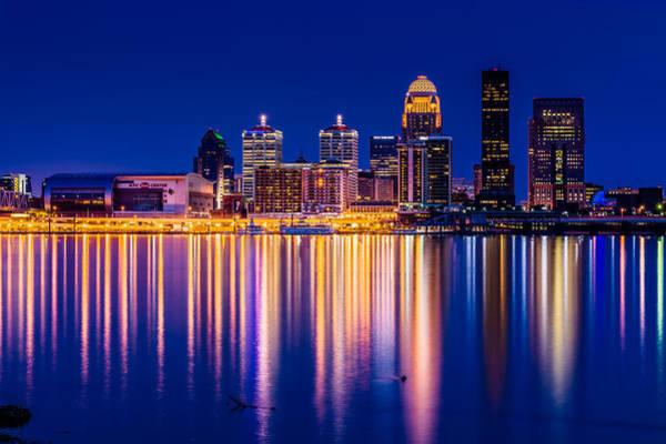 Photograph - Louisville Skyline by Randy Scherkenbach
