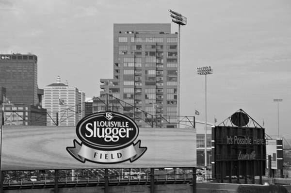Photograph - Louisville Slugger Field by Dan Sproul
