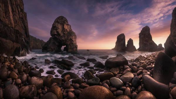Seaside Photograph - Louria?al by Carlos F. Turienzo
