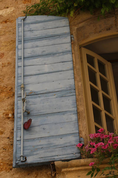 Lourmarin Photograph - Lourmarin Window by Jason Liebman