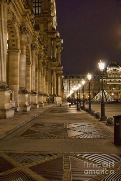 Photograph - Louvre Courtyard by Crystal Nederman