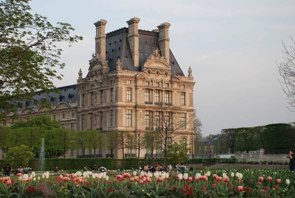 Photograph - Louvre Museum by Jennifer Ancker