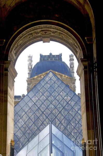 Wall Art - Photograph - Louvre Palace Museum.paris. France by Bernard Jaubert