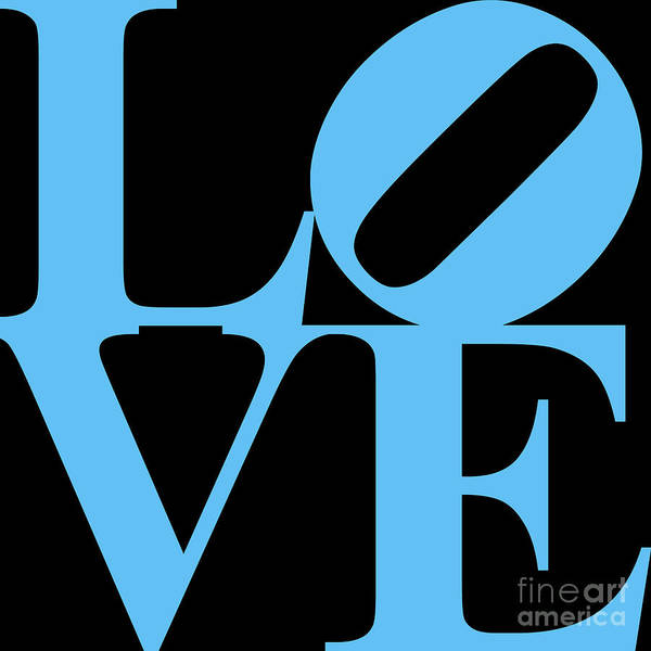 Philadelphia Phillies Digital Art - Love 20130707 Blue Black by Wingsdomain Art and Photography