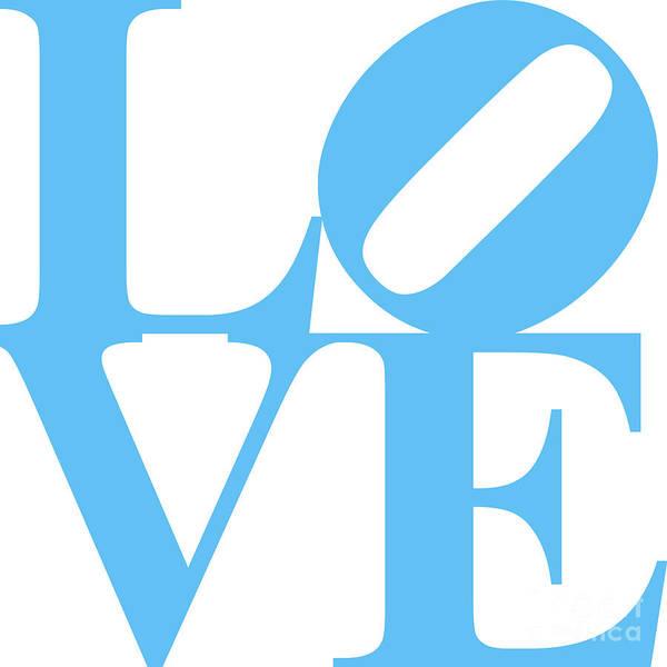 Philadelphia Phillies Digital Art - Love 20130707 Blue White by Wingsdomain Art and Photography