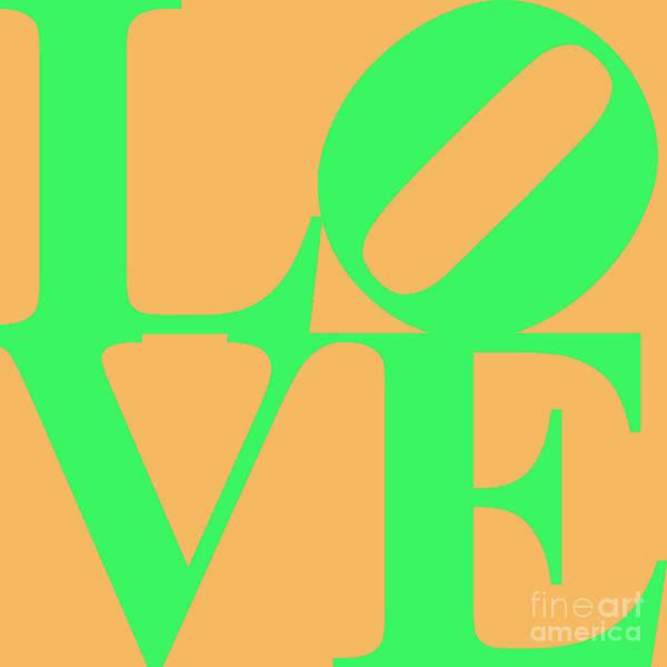 Philadelphia Phillies Digital Art - Love 20130707 Green Orange by Wingsdomain Art and Photography