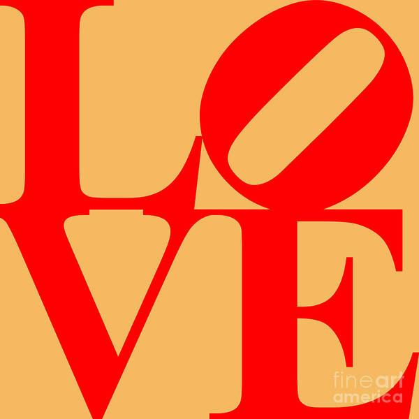 Philadelphia Phillies Digital Art - Love 20130707 Red Orange by Wingsdomain Art and Photography