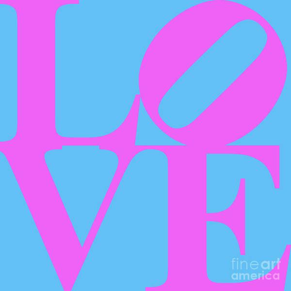 Philadelphia Phillies Digital Art - Love 20130707 Violet Blue by Wingsdomain Art and Photography