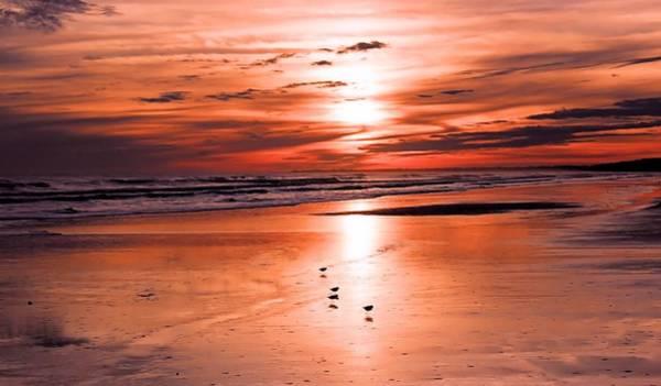 Kiawah Island Photograph - Love A Pink Sunset Kiawah Island by Rosanne Jordan
