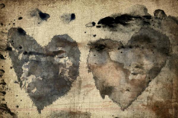 Ink Photograph - Love Abides by Carol Leigh
