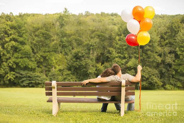 Love And Balloons Art Print