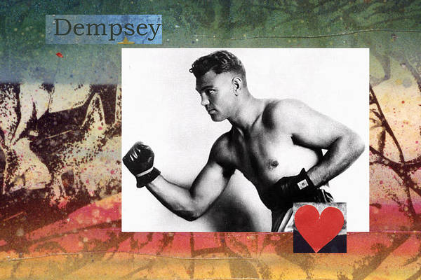 Photograph - Love And War Dempsey by Mary Ann Leitch