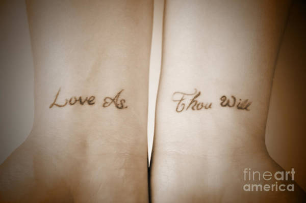 Photograph - Love As Thou Will by Kathi Shotwell