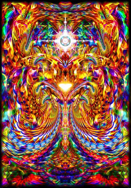 Digital Art - Love Awakening by Jalai Lama
